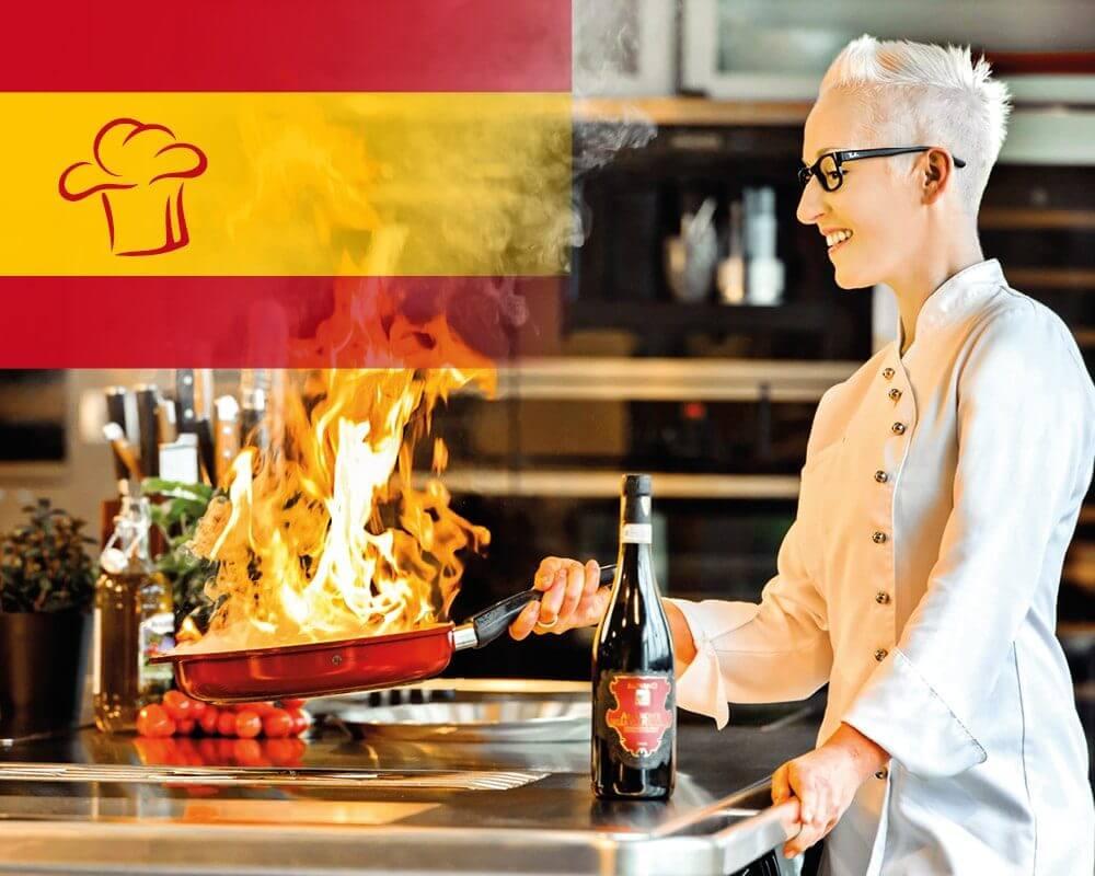 Kochwerkstatt Spanien