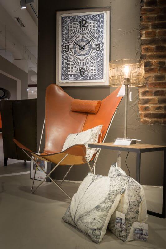 Cooler Sessel bei Rodemann