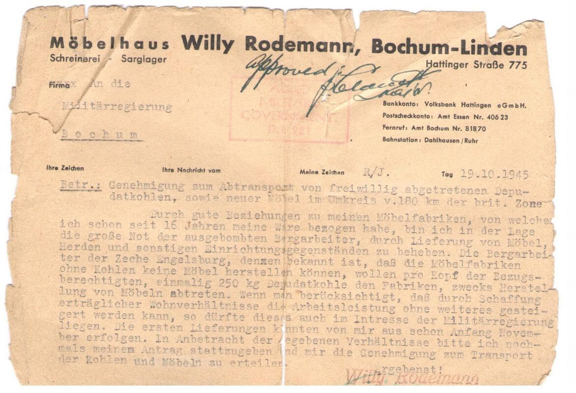 Möbel Rodemanns Firmengeschichte Von 1929 Bis Heute