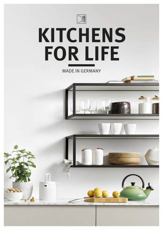 Schüller Kitchens for Life Katalog
