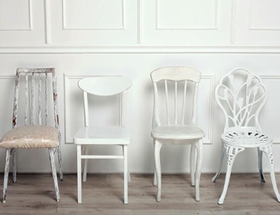 Alt und Neu Mix Stuhl
