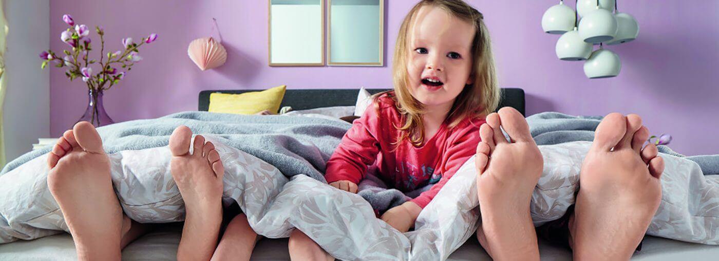Kindgerechtes Wohnen Bett