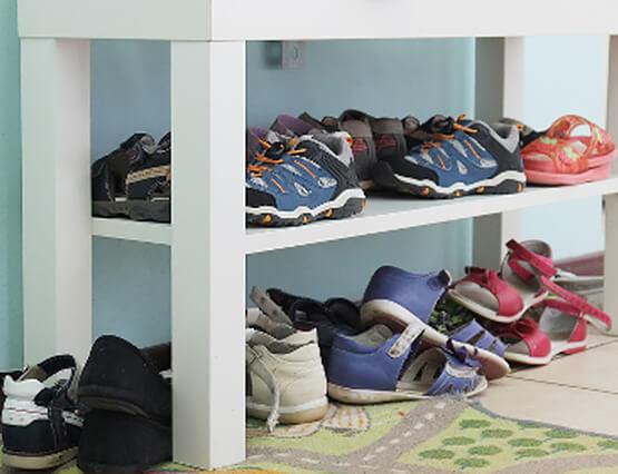 Content Kindgerechtes Wohnen Schuhschrank