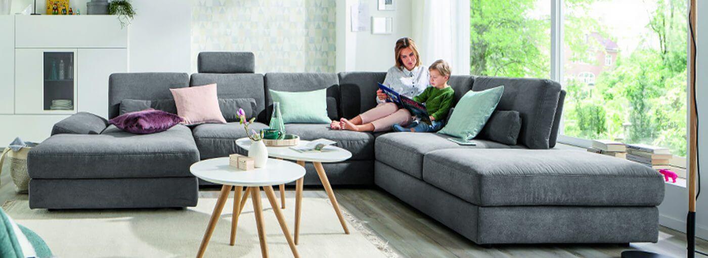 Kindgerechtes Wohnen Sofa