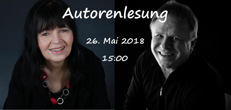 Autorenlesung mit Allan Ballmann und Gabriela Grune