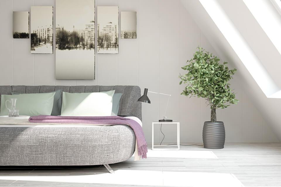 Richtig schönes Wohnen Sofa grau