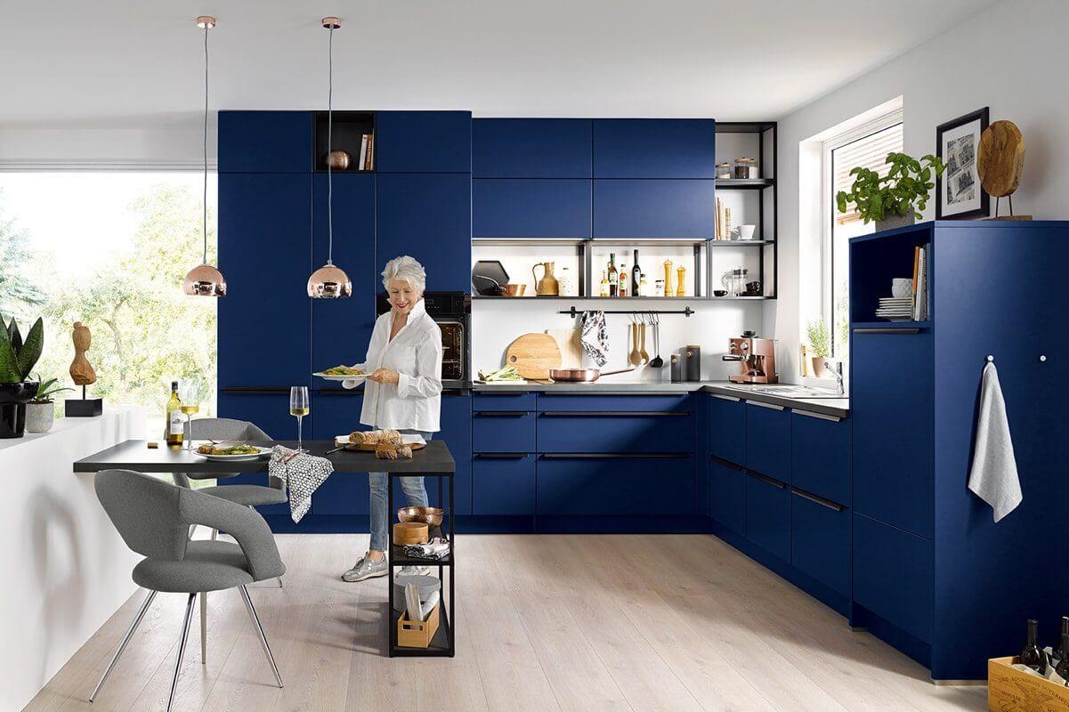 Rodemann Küche blau