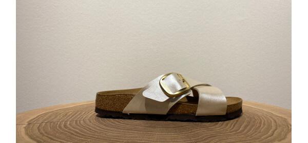 Glänzende Sandale von Birkenstock