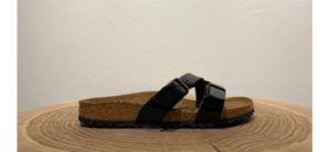 Schwarze Sandale von Birkenstock