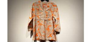 Gemusterte Bluse von Malvin