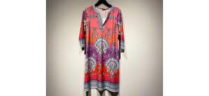 Gemustertes Kleid der Marke Malvin