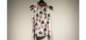 Gemusterte Bluse der Marke Risy & Jerfs