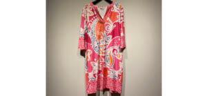 Kleid von Malvin mit Mustern